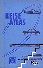 Reise atlas der Deutschen Demokratischen Republik
