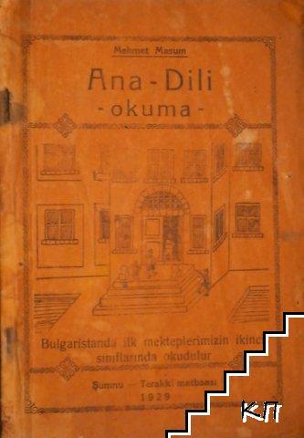 Ana - Dili - okuma