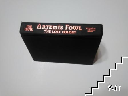 Artemis Fowl the lost colony