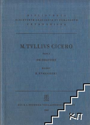 Scripta quae manserunt omnia. Fask. 3: De oratore