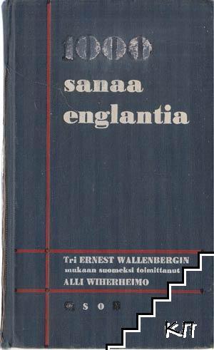 1000 sanaa Englantia