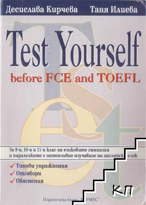 Test Yourself before FCE and TOEFEL