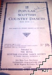 16 popular Scottish Country Dances