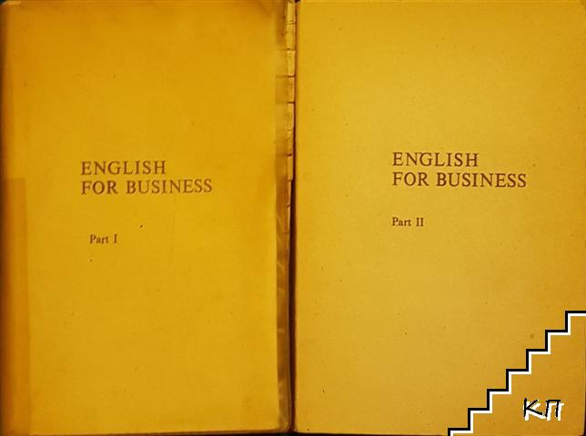 English for Business. Part 1-2