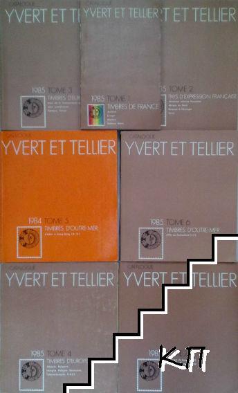 Yvert et Tellier Catalogue de timbres-poste. Tome 1-7