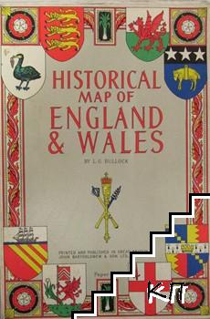 Historical map of England & Wales