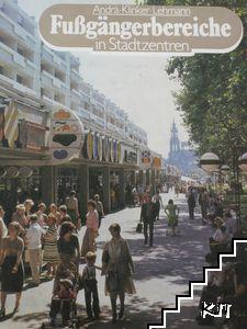 Fußgängerbereiche in Stadtzentren