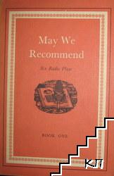 May We Recommend. Book 1