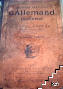 Lectures pratiques d'allemand moderne 1er degré