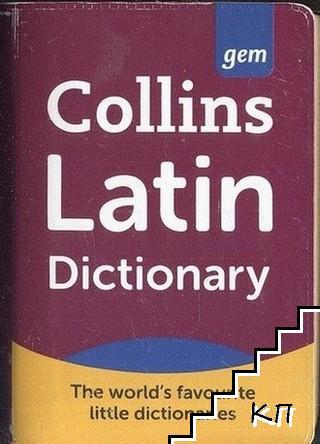 Collins Gem Latin Dictionary: Latin-English, English-Latin