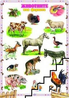 Табло: Животните във фермата