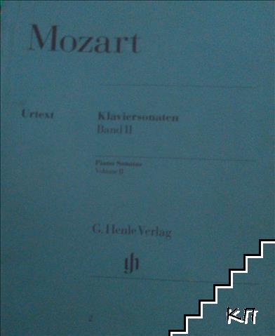 Mozart. Klaviersonaten