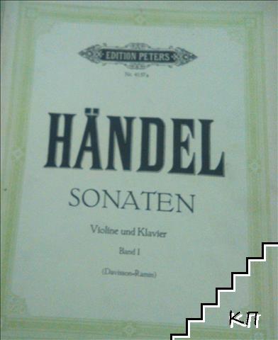 Handel. Sonaten. Violine und Klavier