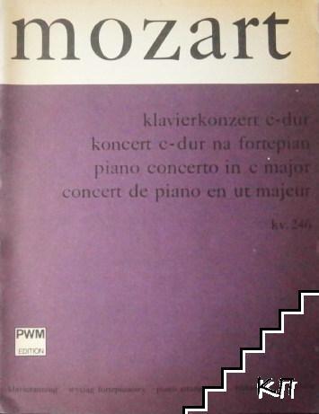 Koncert C-dur KV 246, na fortepian (wyciąg fortepianowy)