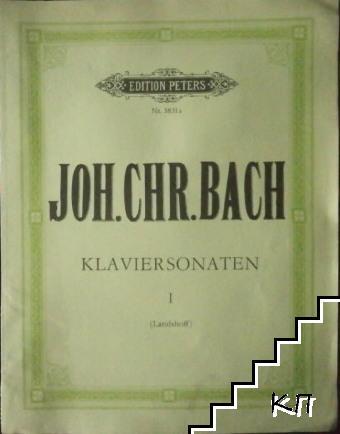 Edition Peters № 3831a: Klaviersonaten Heft I (Landshoff)