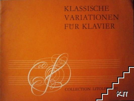 Klassische Variationen fuür Klavier