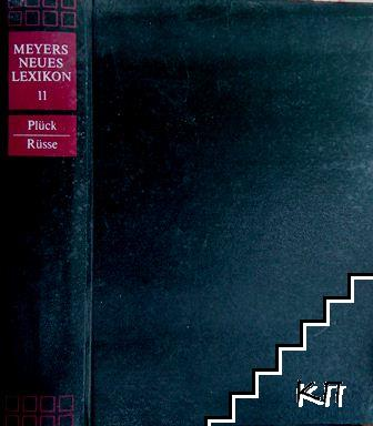Meyers Neues Lexikon in achtzehn Bänden. Band 11: Plück-Rüsse
