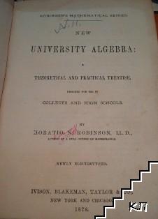 New university algebra