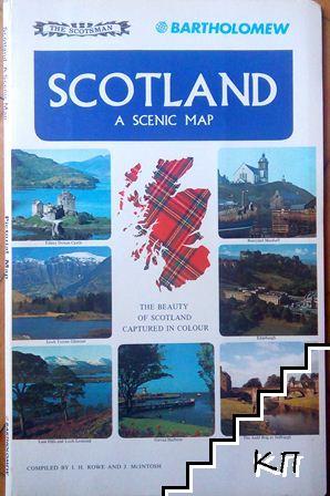 Scotland: A Scenic Map