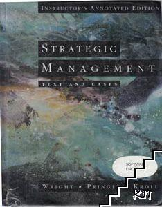 Strategic Management. Text and Cases + 2 diskettes