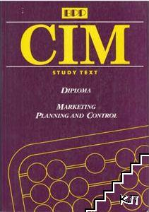 CIM: Diploma. Marketing Planing and Control