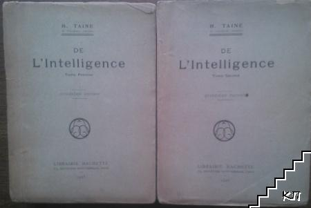 L'Inteligence. Tome 1-2