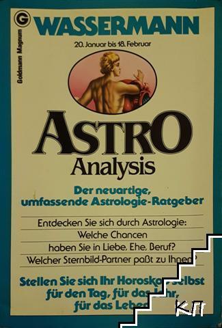 Astro analysis. Wassermann 20. Januar bis 18. Februar