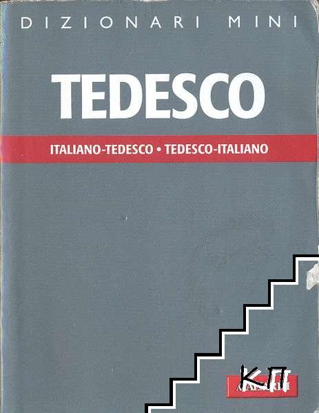 Dizionari mini Tedesco: italiano-tedesco, tedesco-italiano