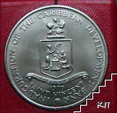 4 долара / 1970 / Сейнт Винсент и Гренадини