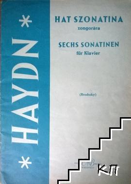 Hat Szonatina zongorára
