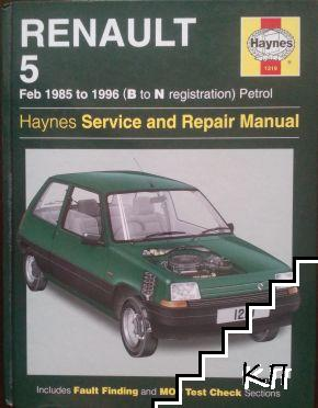 Renault 5 Service and Repair Manual