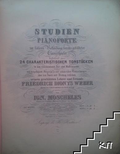 Studien für das Pianoforte
