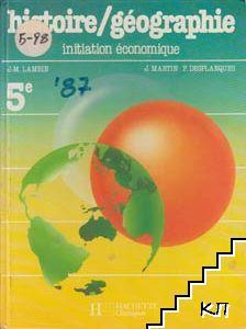 Histoire / Géographie intiation économique de 5e