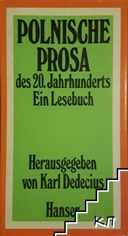 Polnische prosa des 20. Jahrhunderts