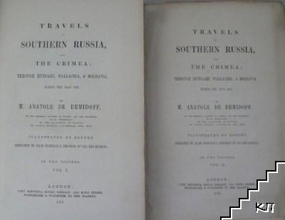 Travels in Southern Russia and the Crimea: Through Hungary, Wallachia, & Moldavia, During the Year 1837. Vol. 1-2