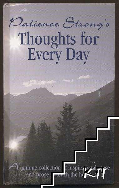 Patience Strong's Thoughts for Every Day: A unique collection of inspirational verse and prose to touch the heart