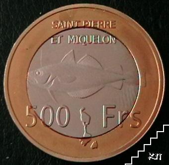 500 франка / 2013 / Сен Пиер и Микелон