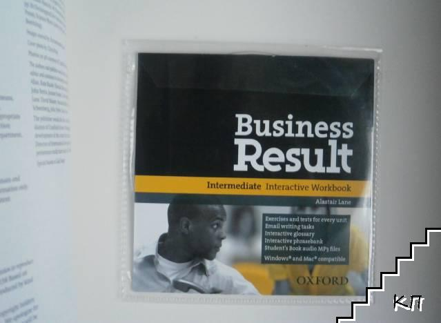 Business Result: Intermediate Student's Book + CD-ROM