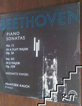 Piano sonatas № 12, № 30 / Andante favori