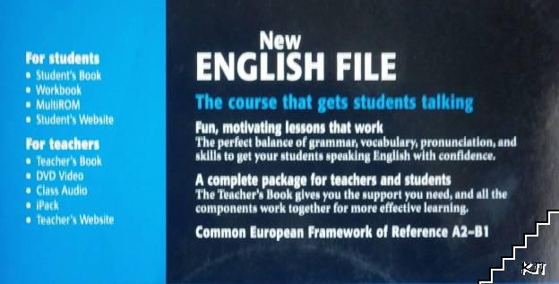 New English File: Pre-Intermediate Teacher's Book + CD-Rom
