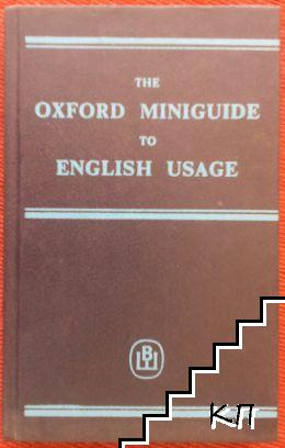 The Oxford Miniguide to English Usage