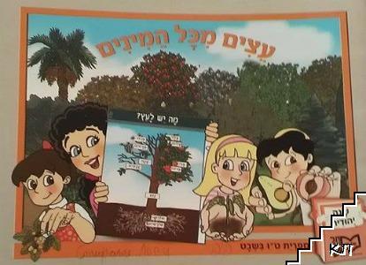 """Учебник по иврит """"Дървета от всички видове"""""""