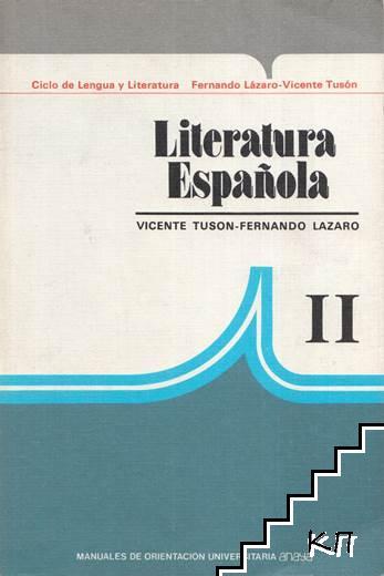 Literatura Española. Parte 2