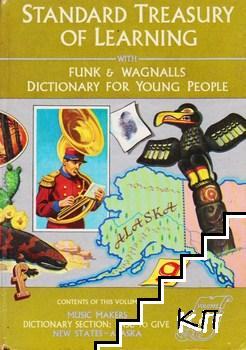 Standard Treasury Of Learning With Funk & Wagnalls Dictionary for Young People. Vol. 8