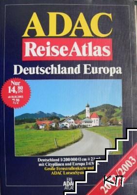 Reise Atlas: Deutschland Europa