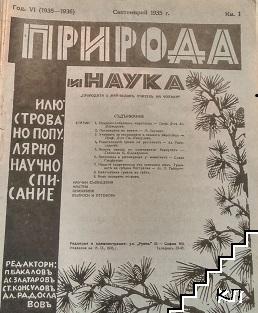 Природа и наука. Кн. 1-10 / 1935-1936