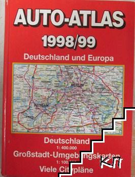 Auto-Atlas 1998/99 Deutschland und Europa