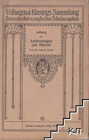 Anhang zu Andromaque par Racine