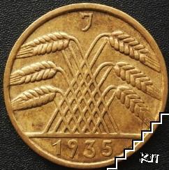 10 райхпфениг / 1935 / Германия