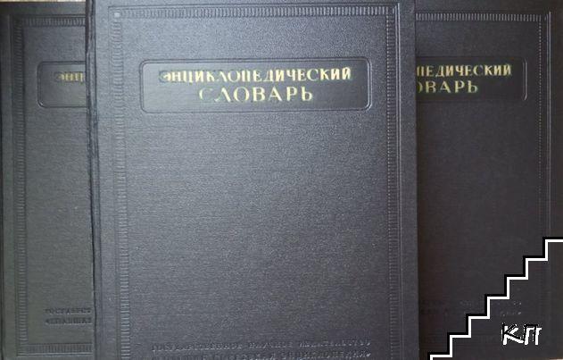 Энциклопедический словарь. Том 1-3 (Допълнителна снимка 1)